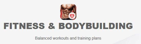 Fitness Bodybuilding App